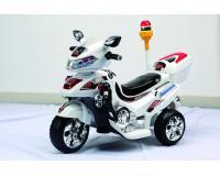 Gyerek motor tricikli fehér 3 kerekű